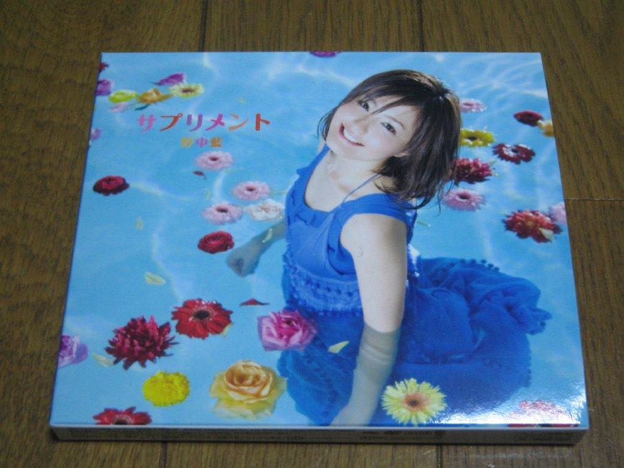 野中藍 「サプリメント」_e0058207_21462963.jpg