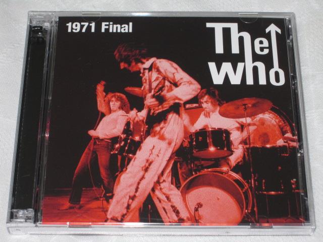 The who / 1971 Final_b0042308_23272143.jpg