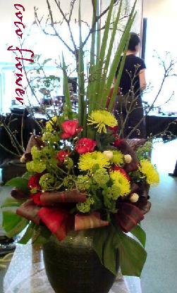 展示会のお花_c0130553_2129176.jpg