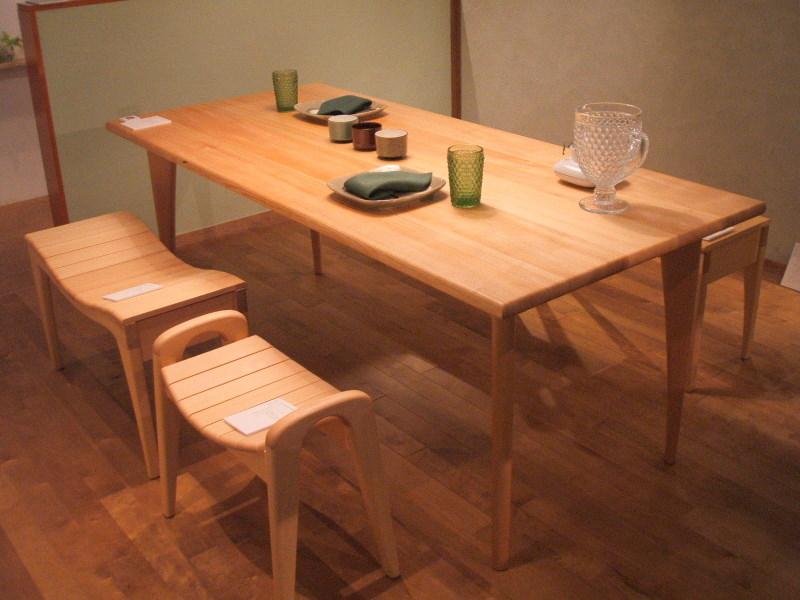 The Tables     おりつめ木工 _f0206159_1235316.jpg