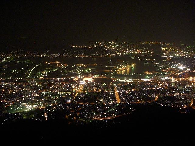 皿倉山の夜景_d0116009_1505856.jpg