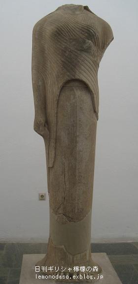 紀元前570年コレー像 サモス島へ...