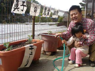 マコの農業体験!!&両親のお野菜販売!!_e0166301_14401683.jpg