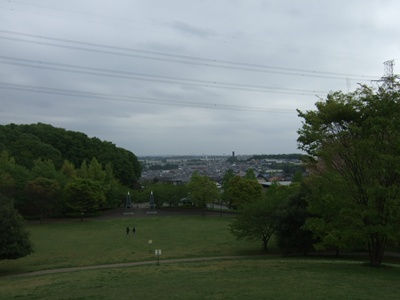 真光寺公園からの眺め