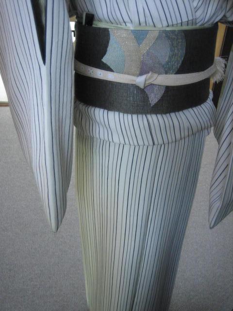 浦島太郎の手織りの帯・今日のコーディネイト。_f0181251_17142337.jpg