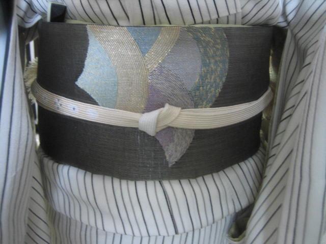 浦島太郎の手織りの帯・今日のコーディネイト。_f0181251_17163257.jpg