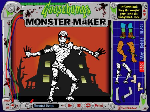 Goosebumps monster maker!!_c0083911_20542822.jpg