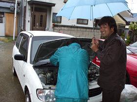 雨の日を狙う鬼・マコト......_b0138552_22173865.jpg