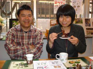 マコ IN コーヒーストーリー & Mさまのザッハトルテ_e0166301_180987.jpg