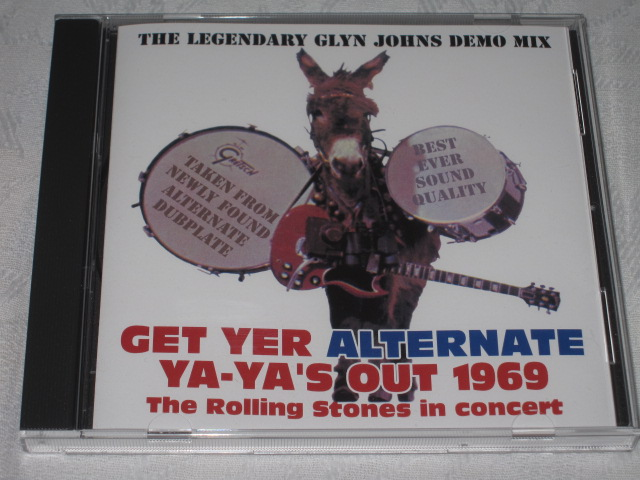 THE ROLLING STONES / GET YER ALTERNATE YA-YA\'S OUT 1969_b0042308_22451523.jpg
