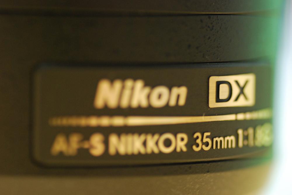 「Nikon AF-S DX NIKKOR 35mm f/1.8G」買っちゃったよぉ♪_f0172612_22123969.jpg