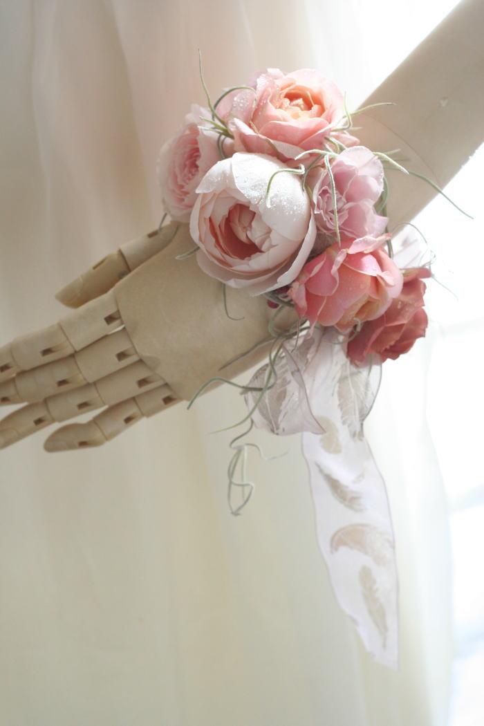 生花のリストレット セピアピンク _a0042928_22115584.jpg