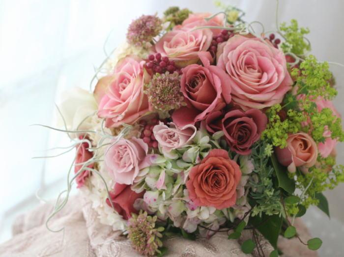 生花のリストレット セピアピンク _a0042928_22121325.jpg