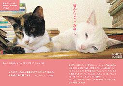『猫ふんじゃったなギャラリーたち 』は終了しました。_f0138928_1205624.jpg