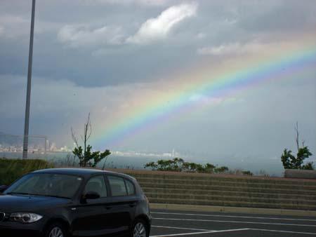 """淡路島から見えた""""虹""""                 No.579_d0103457_20472812.jpg"""