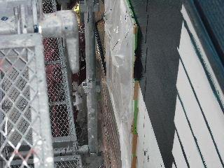 塗装工事5日目・・・外壁塗装開始_f0031037_2210425.jpg