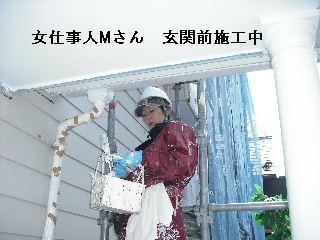塗装工事5日目・・・外壁塗装開始_f0031037_228535.jpg