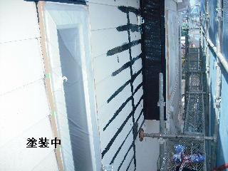 塗装工事5日目・・・外壁塗装開始_f0031037_2294121.jpg