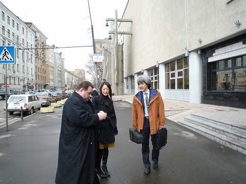 モスクワ滞在記 楽器返還編_d0047461_15194721.jpg