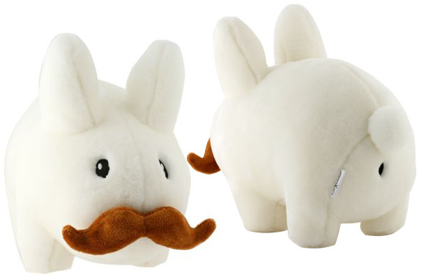 14 inch Plush Moustache Labbit_e0118156_13592837.jpg