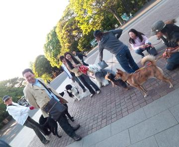 上野公園から歩いて千尋ちゃん宅に出張調理!_c0180686_029016.jpg