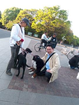 上野公園から歩いて千尋ちゃん宅に出張調理!_c0180686_0323533.jpg