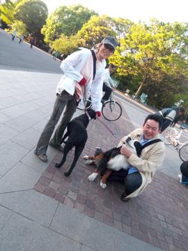 上野公園から歩いて千尋ちゃん宅に出張調理!_c0180686_033162.jpg