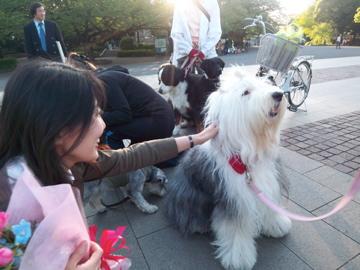 上野公園から歩いて千尋ちゃん宅に出張調理!_c0180686_03374.jpg