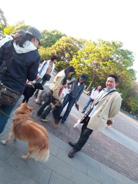 上野公園から歩いて千尋ちゃん宅に出張調理!_c0180686_0374586.jpg