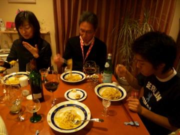 土曜日は横浜の友人宅へ_c0180686_1261527.jpg