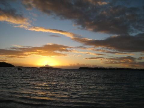 ニューカレドニアの青い空(4)Ile des Pinsへ_c0013687_14364545.jpg