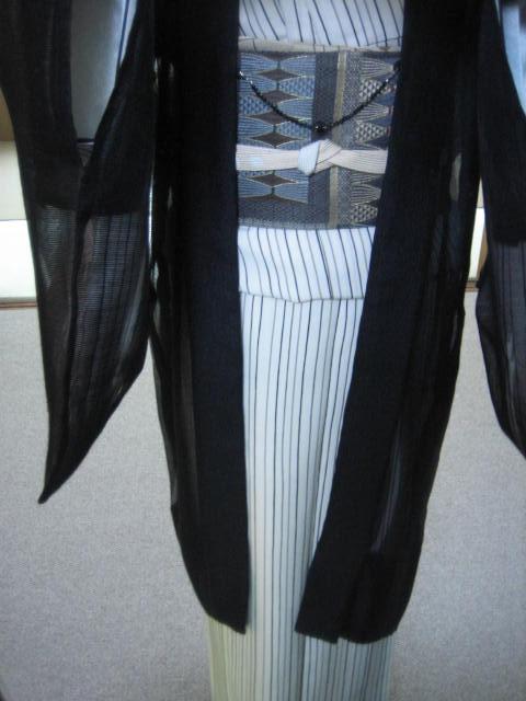 シースルーの羽織・今日のコーディネイト。_f0181251_15514371.jpg