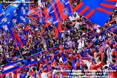 第15回 多摩川クラシコ FC東京ゴール裏