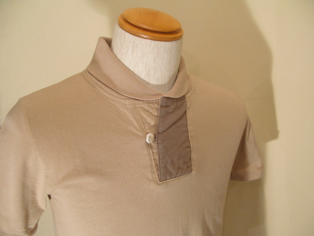 新作 『Champion Cloth Shawl Collar Half Sleeve Top』_e0142928_23321262.jpg