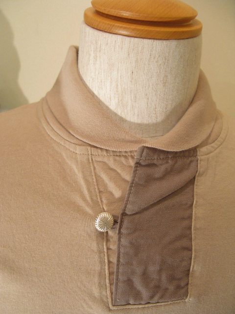 新作 『Champion Cloth Shawl Collar Half Sleeve Top』_e0142928_23325968.jpg