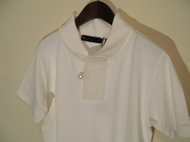 新作 『Champion Cloth Shawl Collar Half Sleeve Top』_e0142928_2335356.jpg
