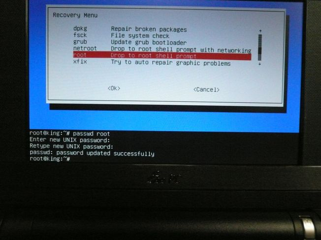 Linux パスワード忘れた時の対処(grub編)_f0097683_830122.jpg