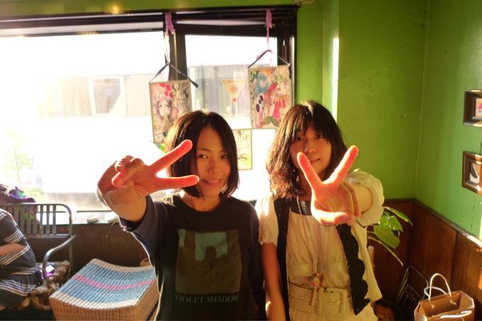 ふたりのマリコさん。お〜つ〜か〜れ〜さま♡_f0170995_13282775.jpg
