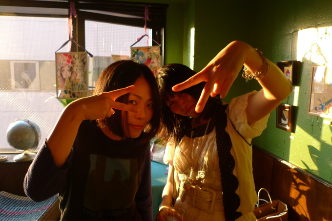 ふたりのマリコさん。お〜つ〜か〜れ〜さま♡_f0170995_13283629.jpg