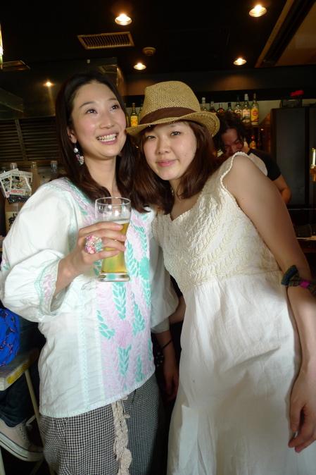 ふたりのマリコさん。お〜つ〜か〜れ〜さま♡_f0170995_1375931.jpg