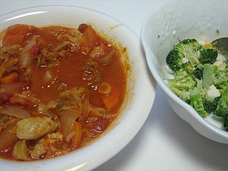 鶏と野菜のトマト煮_c0025217_16314645.jpg
