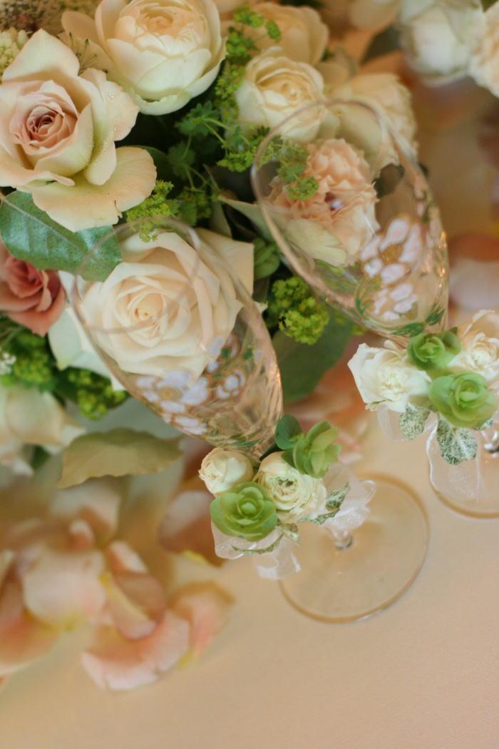 シェ松尾松濤レストラン様の装花 ジャスミン_a0042928_21231572.jpg