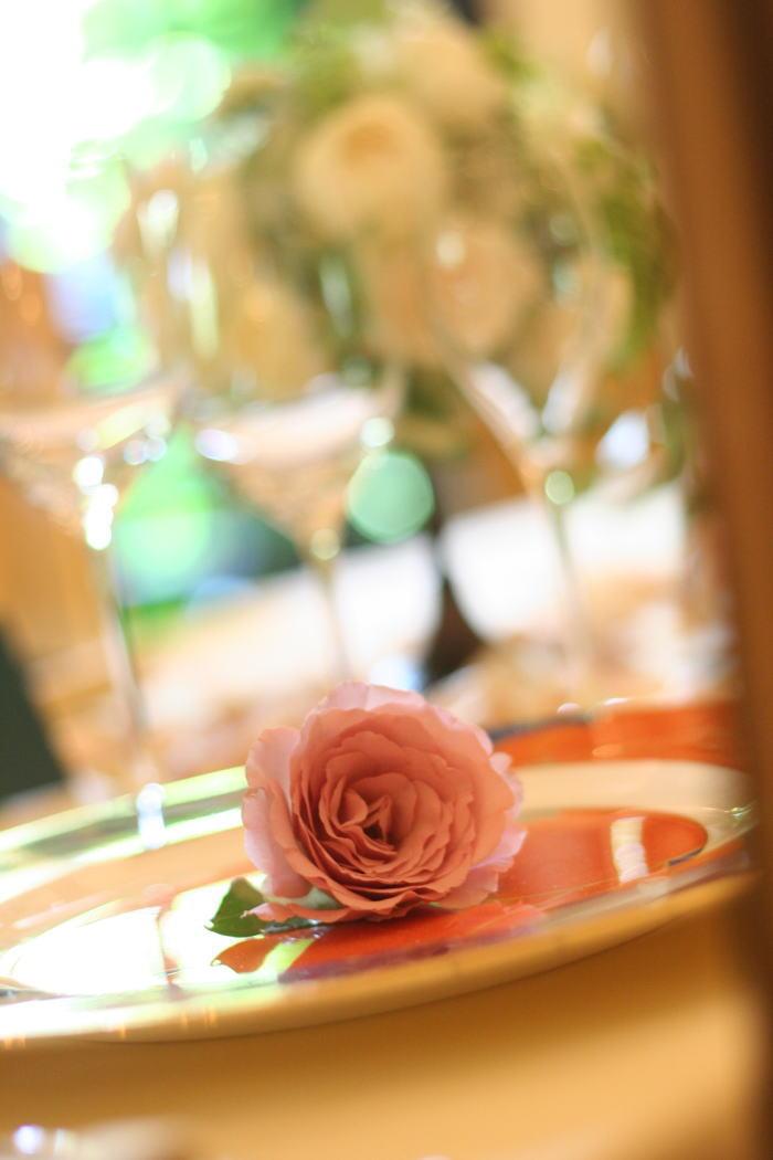 シェ松尾松濤レストラン様の装花 ジャスミン_a0042928_21242636.jpg