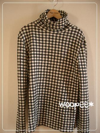 タートルネックTシャツ & ハイネックTシャツ_f0038377_20405470.jpg
