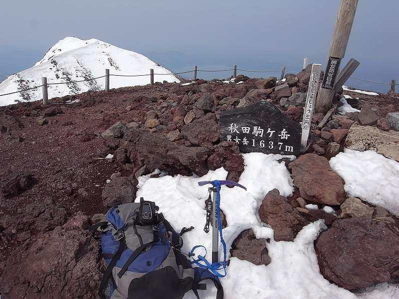 5月2日、秋田駒ヶ岳_f0138096_19101363.jpg