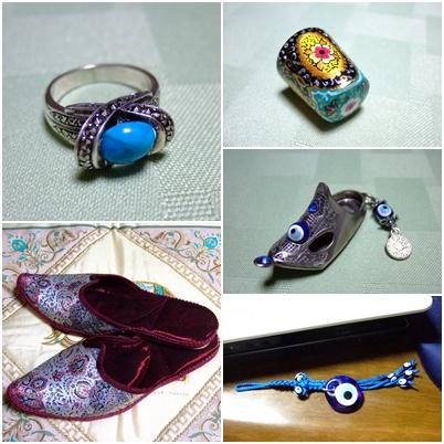 トルコのお土産小物