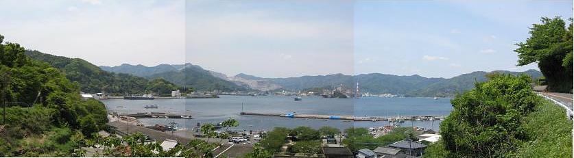 佐伯路の旅景(プロローグ)・・・津久見湾遠望_c0001578_22113195.jpg