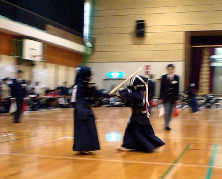 今日は岩崎村で試合でした!_f0150893_214102.jpg