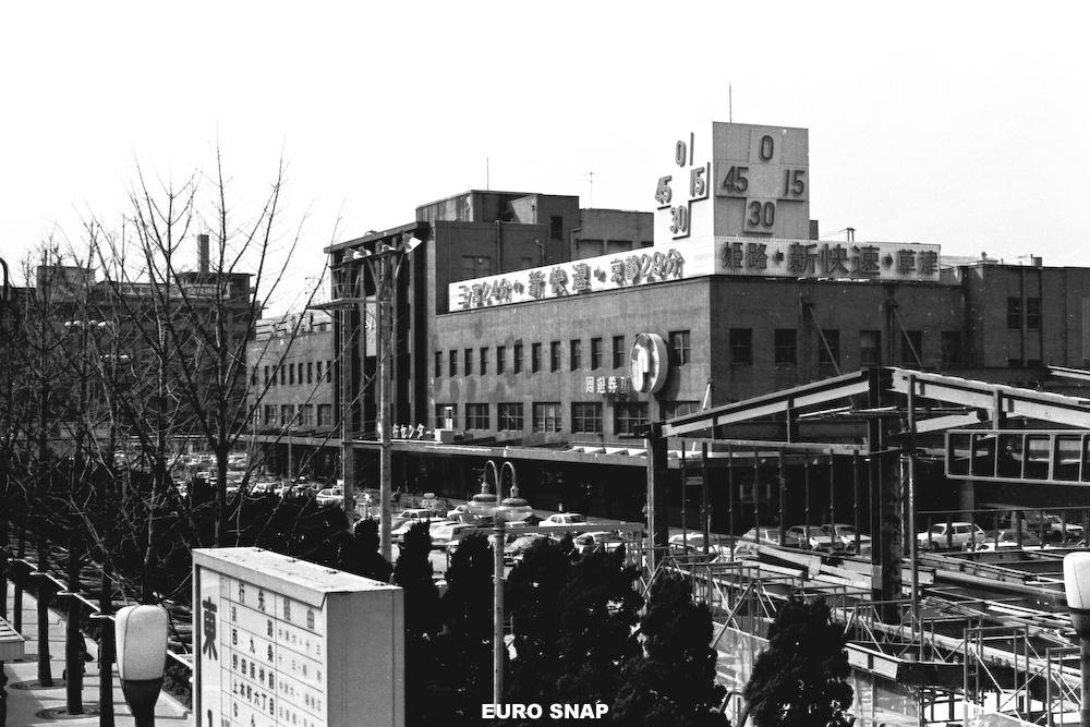 1978年 昭和53年 駅舎 : EURO SNAP