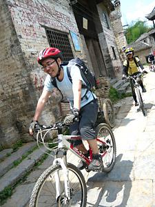 南中国 陽朔Yangshuoサイクリング 1日目_d0023725_20501346.jpg